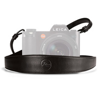 Leica Wide Saddle Leather Camera Strap (Black)