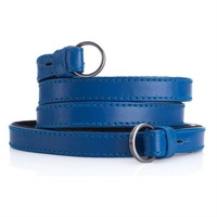 Leica Neck Strap Blue Calf Leather