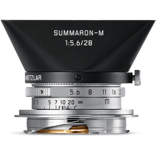 Leica Summaron-M 28mm f/5.6 Wide-Angle Lens Silver