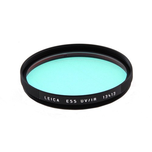 Leica E55 UVA/IR Glass Filter (Black)