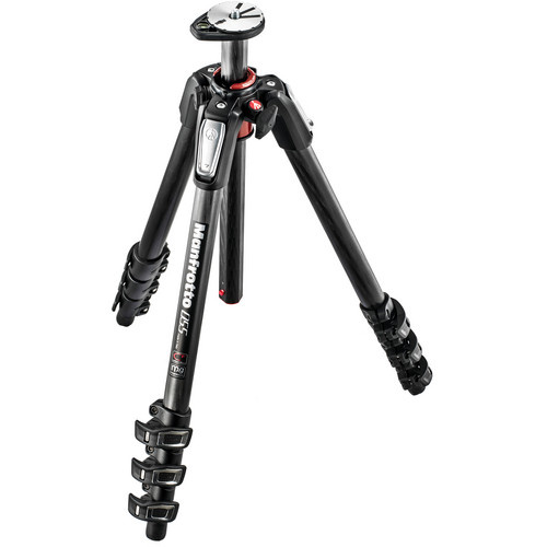 Manfrotto 055CXPRO Carbon Fibre Series 4-Section Tripod